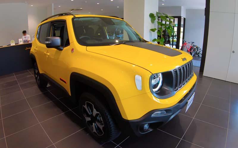 Jeep-Renegade 全体