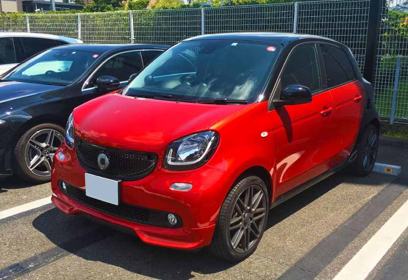 smart forfour exterior full